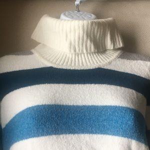 Style & Co. striped sweater w/pockets